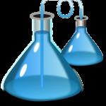 Untersuchung mit einem Reagenzglas