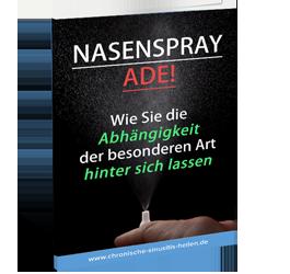 Ebook zur Nasenspray-Entwöhnung