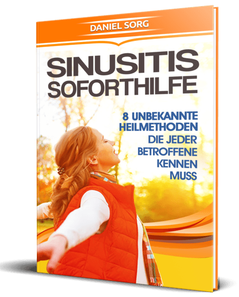 Sinusitis Soforthilfe Cover