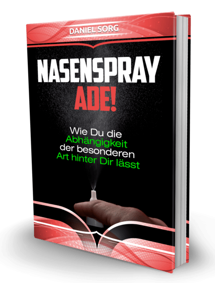 Nasenspray Sucht Ebook Cover